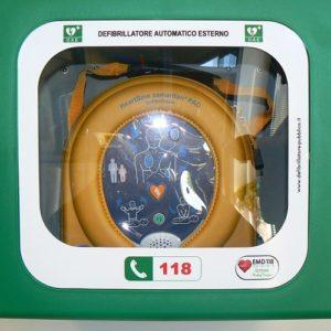 Teca defibrillatori