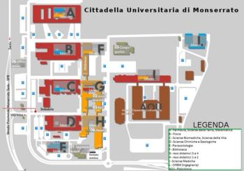 Cittadella universitaria monserrato cagliari defibrillatori