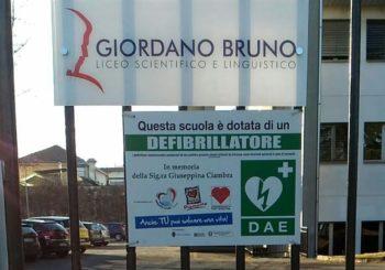 Defibrillatore salva la vita a scuola a torino